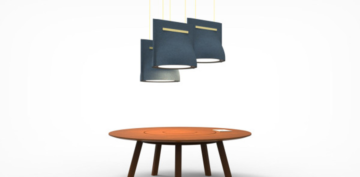 Buzzi bell - sound absorbing lighting - ceilings